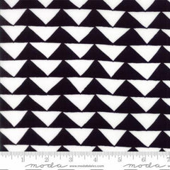 Thicket Triangles in Black and White from Thicket by Gingiber for Moda