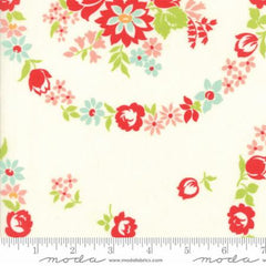 Handmade Floral June in Cream from Handmade by Bonnie and Camille for Moda