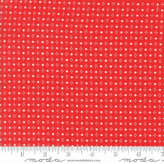 Handmade Floral Spots in Red from Handmade by Bonnie and Camille for Moda