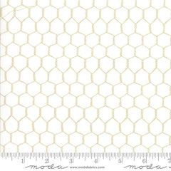 Farm Fun Chicken Wire in Cream and Beige from Farm Fun by Stacy Iest Hsu for Moda