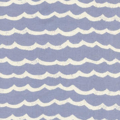 Kujira & Star Waves in Fog from Kujira & Star by Rashida Coleman-Hale for Cotton+Steel