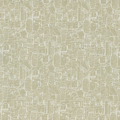 Shibuya in Linen from Tokyo Train Ride by Sarah Watts for Cotton+Steel