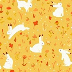 Luna Sol Bunnies in Sun Spot from Luna Sol by Felice Regina for Windham