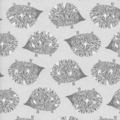 Sleep Tight Prickles in Gray from Sleep Tight by Sarah Watts for Cotton+Steel