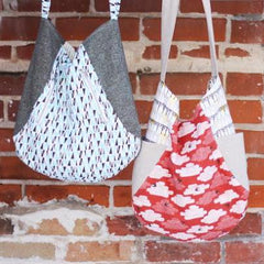 241 Tote – Paper Accessory Pattern from Modern Country by Noodlehead Patterns