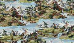 Alpine Elevation in Earth from Alpine by Erin Michael for Moda