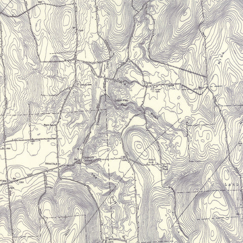Alpine Topographic Map in Stone Grey