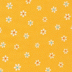 Just One of Those Days Flowers in Screamin Yellow from Just One of Those Days by Darlene Zimmerman for Robert Kaufman