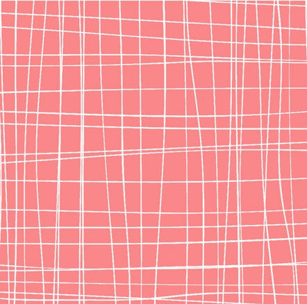 Scratchy Plaid in Pink