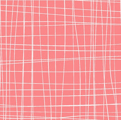 Scratchy Plaid in Pink from Zoe and Zack by Bethany Shackelford for Quilting Treasures