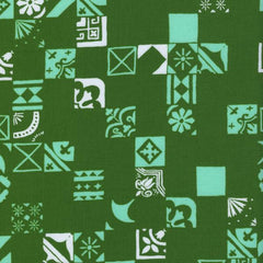 Clover Dance Floor in Shamrock from Clover by Alexia Abegg for Cotton+Steel