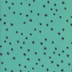 Printshop Starry in Seaglass from Printshop by Alexia Abegg for Cotton+Steel
