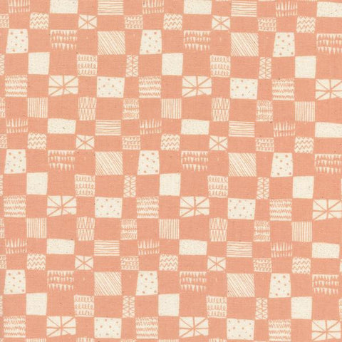 Printshop Grid in Peach