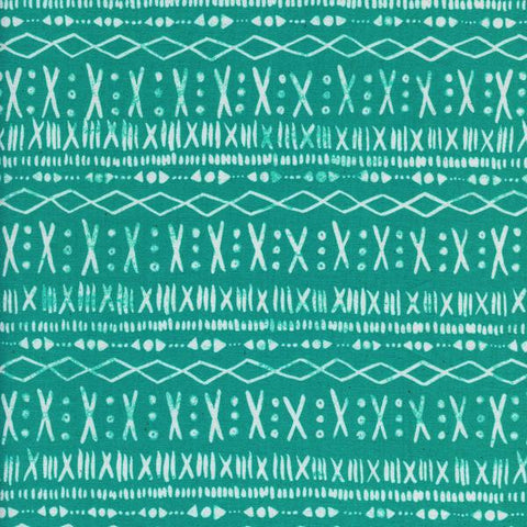 Printshop Stitch in Turquoise