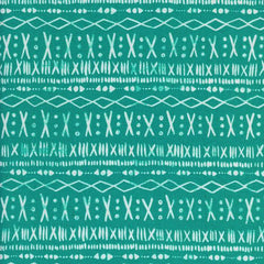 Printshop Stitch in Turquoise from Printshop by Alexia Abegg for Cotton+Steel