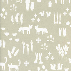 Printshop This + That in Linen from Printshop by Alexia Abegg for Cotton+Steel