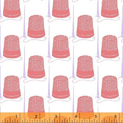 Snippits Thimbles in Red from Snippits by Sarah Fielke for Windham