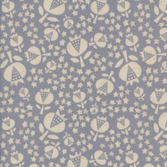 Flower Shop Thistle in Sky from Flower Shop by Alexia Abegg for Cotton+Steel