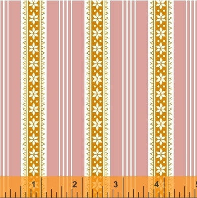 Modern Country Stripes in Pink