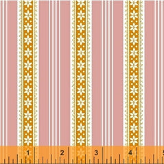 Modern Country Stripes in Pink from Modern Country by Mary Elizabeth Kinch for Windham