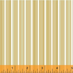 Modern Country Lines in Orange from Modern Country by Mary Elizabeth Kinch for Windham