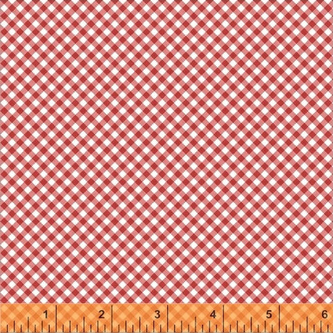 Starlight Mini Gingham in Red