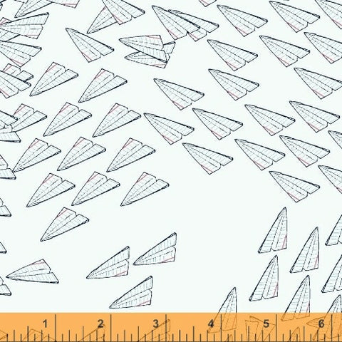 Paper Obsessed Airplanes in Light Blue