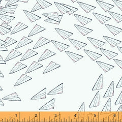 Paper Obsessed Airplanes in Light Blue from Paper Obsessed by Heather Givans for Windham