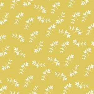 Maribel Mono Floral in Yellow