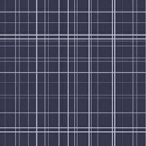 Maribel Fine Line Plaid in Navy