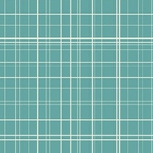 Maribel Fine Line Plaid in Turquoise