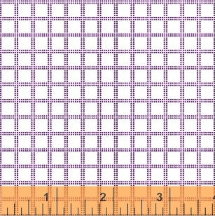 Candy Land Plaid Candy Grid in Grape