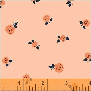 Sweet Florals Tiny Rose in Coral
