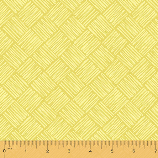 50286-6 Tool Time Scratchy Square in Yellow by Whistler Studios for Windham Fabrics at Pink Castle Fabrics