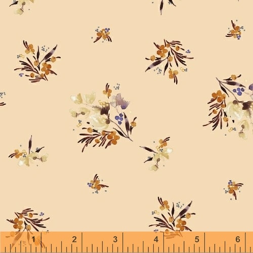 50346-6 Botany Gather in Peach by Kelly Ventura for Windham Fabrics at Pink Castle Fabrics