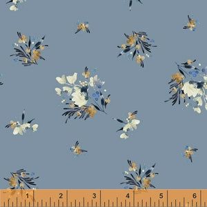 50346-7 Botany Gather in Blue by Kelly Ventura for Windham Fabrics at Pink Castle Fabrics