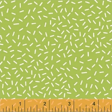 50445-3 Sweet Treats Sprinkles in Pistachio by Maria Carluccio for Windham Fabrics at Pink Castle Fabrics