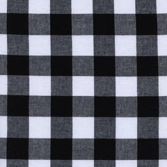 "1"" Gingham in Black from Cotton+Steel Checkers by Cotton+Steel House Designers  for Cotton+Steel"