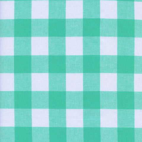 "1"" Gingham in Mint Chip"