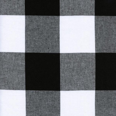 "2 1/2"" Gingham in Black"