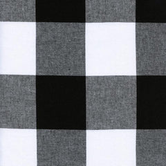 "2 1/2"" Gingham in Black from Cotton+Steel Checkers by Cotton+Steel House Designers  for Cotton+Steel"