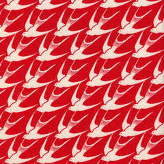 S. S. Bluebird Flock in Red from S. S. Bluebird by Cotton+Steel House Designers  for Cotton+Steel