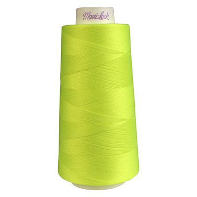 Maxi-Lock Serger Thread 3000yd in Neon Yellow