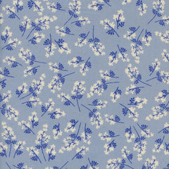 S. S. Bluebird Bouquet in Blue from S. S. Bluebird by Cotton+Steel House Designers  for Cotton+Steel