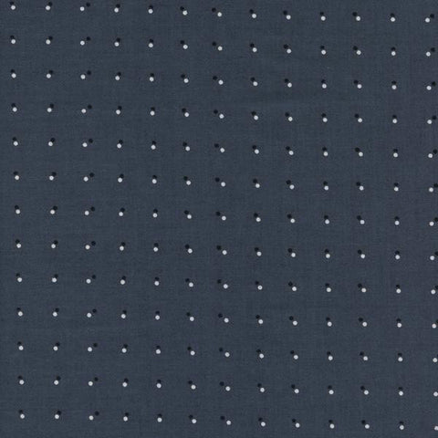 Black & White 2017 Double Dots in Dark Gray