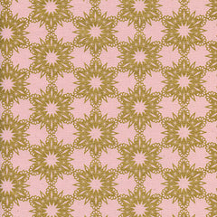 Noel Gold Flakes in Pink Metallic from Noel by Melody Miller for Cotton+Steel