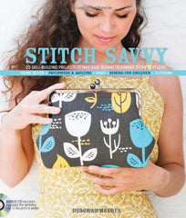Stitch Savvy: 25 Skill-Building Projects to Take Your Sewing Technique to the Next Level from Cozy Christmas by AnneMarie Chany for Lucky Spool