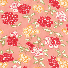 Hello Darling Picnic in Coral from Hello Darling by Bonnie and Camille for Moda