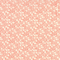 Hello Darling Flower Patch in Coral from Hello Darling by Bonnie and Camille for Moda