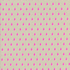 Beauty Shop Drops in Pink from Beauty Shop by Sarah Watts for Cotton+Steel